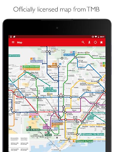 玩免費遊戲APP|下載Barcelona Metro TMB Map &Route app不用錢|硬是要APP