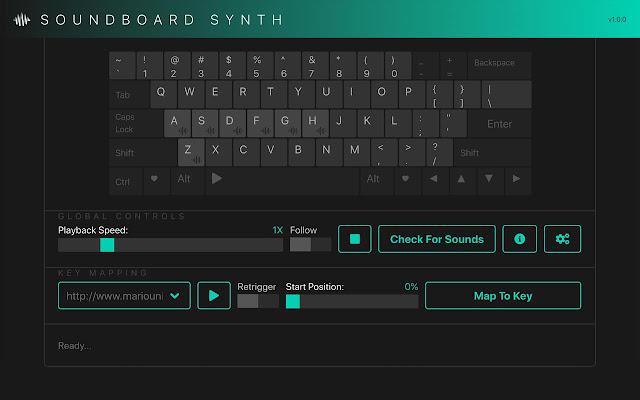 Soundboard Synth