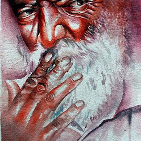 water colour on paper by Anand Sharma - Uncategorized All Uncategorized