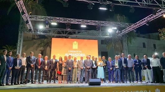 Emoción y reconocimiento en los X Premios Almanzora