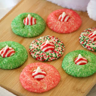 Peppermint Blossom Cookies.