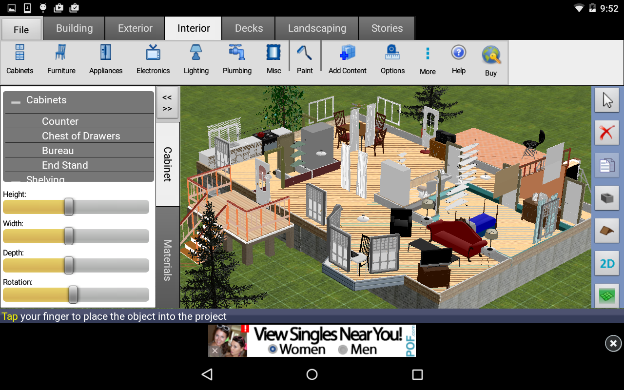 House design software download free - Dreamplan Home Design Free Screenshot