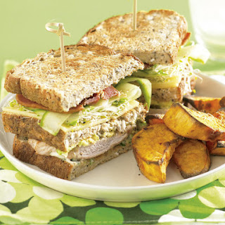 Pork Cutlet Club Sandwich