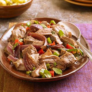 Pork Ribs Marinated Chuquibambino Style.