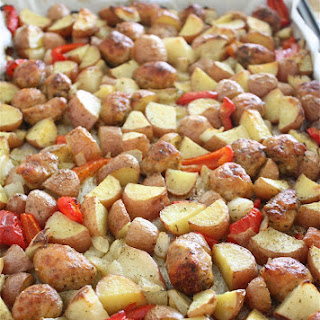 Sausage and Potato Breakfast Bake