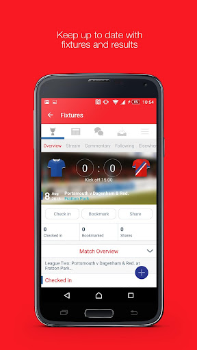 Fan App for Dagenham