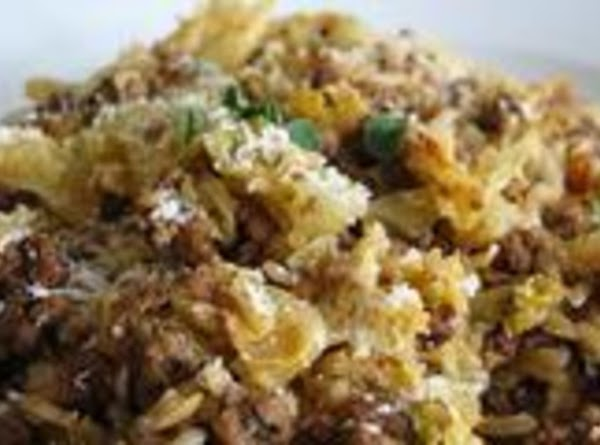 Cabbage Casserole With Rice & Bacon Recipe
