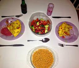 Photo: Dinner!