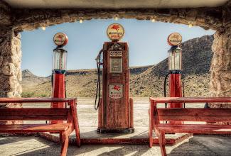 Photo: Alongside legendary Route 66 near Oatman, Arizona.