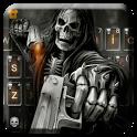 Badace Skull Guns Keyboard - cool gun theme icon