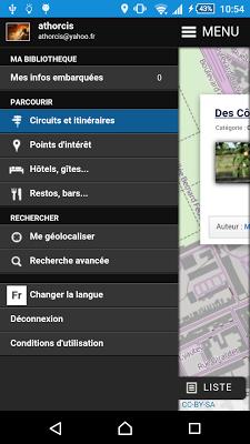 Cirkwi - screenshot