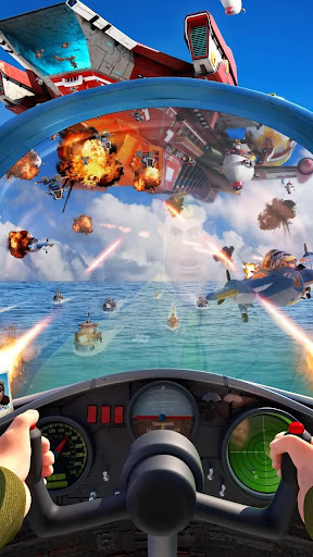 Screenshot for Sea Game: Mega Carrier in United States Play Store