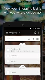 Out of Milk Shopping List- screenshot thumbnail