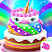Unicorn Cake Bakery Chef : Food Maker Baking Game