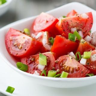 HEALTHY MARINATED TOMATO SALAD