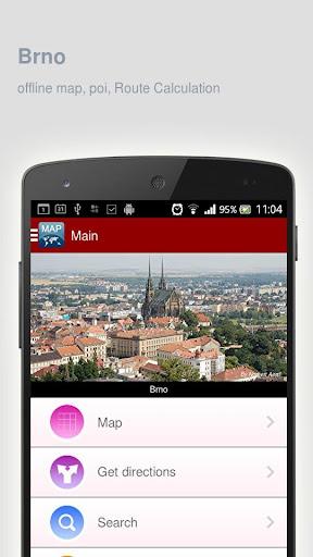 Brno Map offline