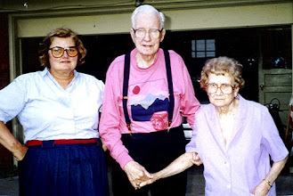 Photo: Dad and Mother became very frail the last year of their lives, 1991.