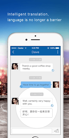 android Dating-chat.meet with stranger Screenshot 2