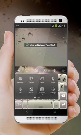 玩個人化App|スカイ反射 TouchPal 皮膚Hifu免費|APP試玩