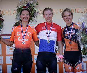 Junior wint Frans kampioenschap, Lorena Wiebes stralende winnares in Nederland