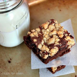 Crumb Cake Brownies