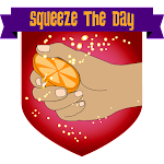 Button Squeeze the Day