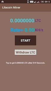 Litecoin Miner - náhled