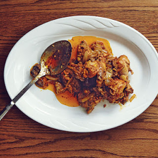 Chicken Adobo With Chicken Livers