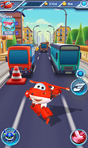 Super Wings : Jett Run 2.2 APK MOD screenshots 2