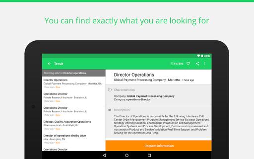 Find job offers - Trovit Jobs 4.41.0 screenshots 10