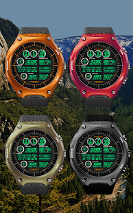 F05WatchFace for Android Wear- screenshot thumbnail