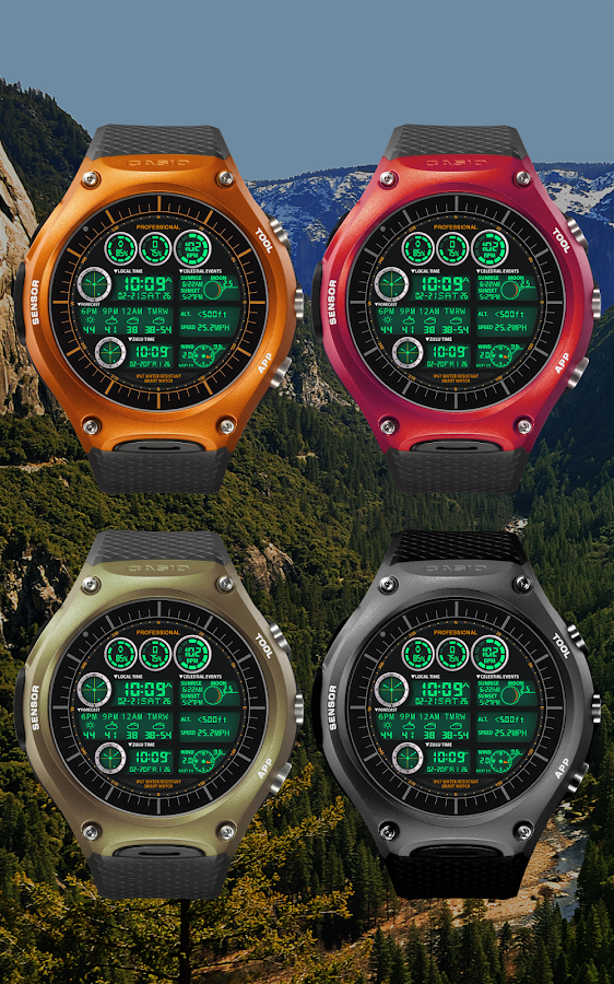 F05WatchFace for Android Wear- screenshot