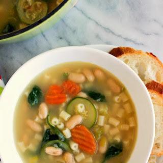 No Tomato Minestrone Soup Recipes.
