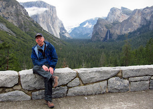Photo: Guide and photographer, Herb, Tunnel View, Day 2. S95. #3589cr