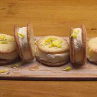 Lemon & Thyme Ice Cream Sandwiches