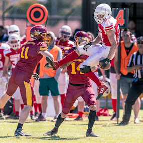Gridiron Victoria by John Torcasio - Sports & Fitness American and Canadian football ( image, sports, action, photo, gridiron victoria )