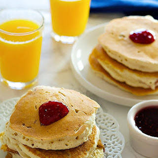 Peanut Butter and Jelly Stuffed Pancakes Recipe