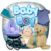 Baby Boy Scrap Photo Frames