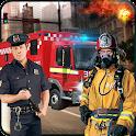Rescue Services Crime City 3D icon
