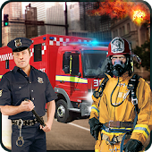 Rescue Services Crime City 3D