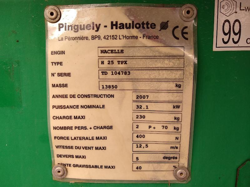 Picture of a HAULOTTE H25 TPX