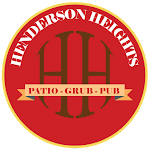 Logo for Henderson Heights - patio/grub/pub