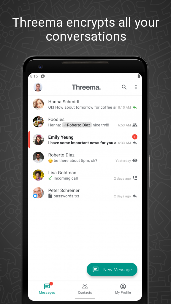 Threema Screenshot 0