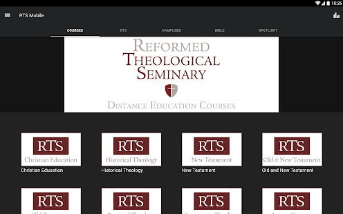 Reformed Theological Seminary- screenshot thumbnail