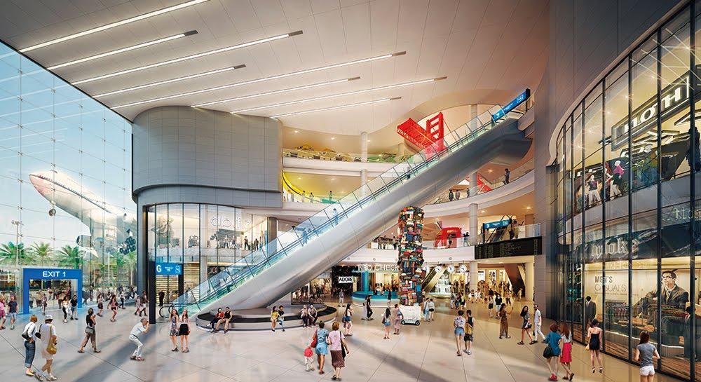 Escalator at Terminal 21 Pattaya