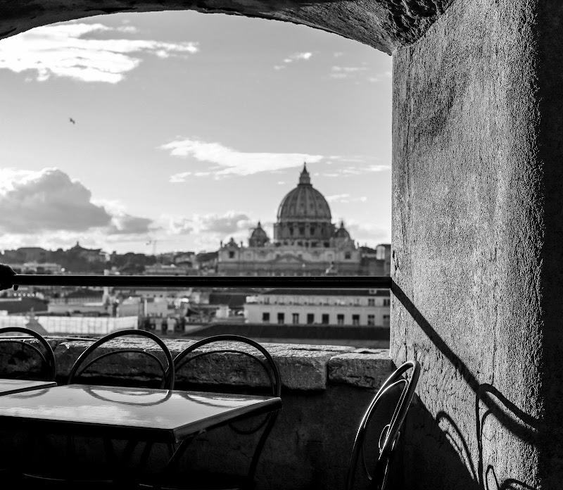 Vista da Castel Sant'Angelo... di PifferiValentina
