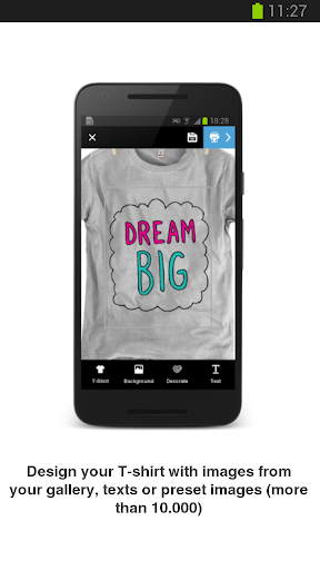 8fe2597f3 Design & Get Your T-Shirt by Mostink (Google Play, United States ...