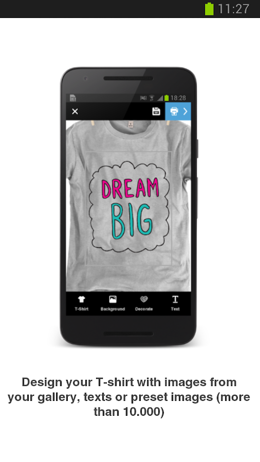 Design Get Your T Shirt Android Apps On Google Play