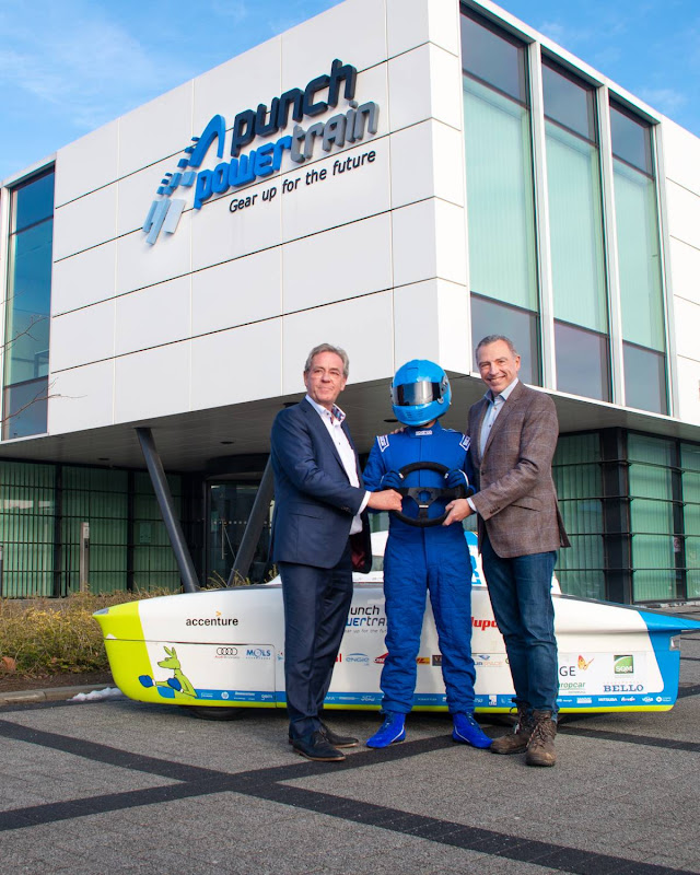 Punch Powertrain Solar Team becomes Agoria Solar Team