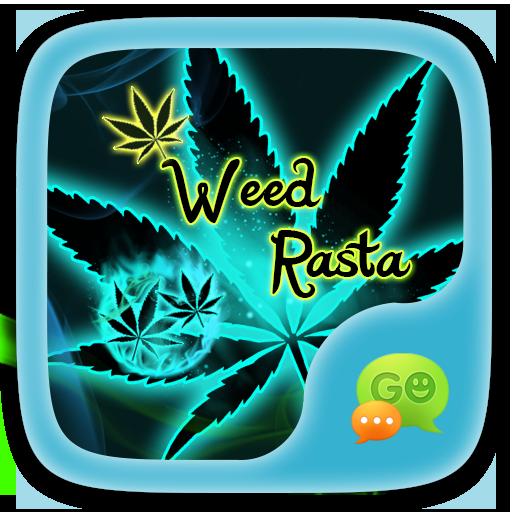 (FREE) GO SMS WEED RASTA THEME